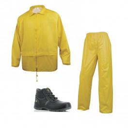 Летний комплект спецодежды Delta Plus EN400, Желтый/ Safety Jogger Eos S3