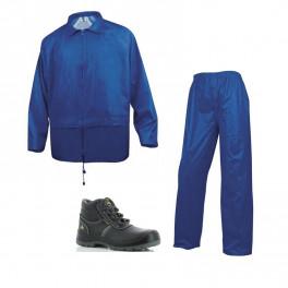 Летний комплект спецодежды Delta Plus EN400, Темно-синий/ Safety Jogger Eos S3