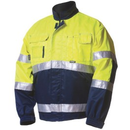 Зимняя сигнальная куртка Dimex 5092