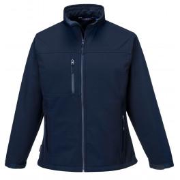 Женская куртка из софтшелла Charlotte Portwest TK41, темно-синий