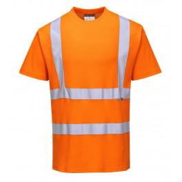 Футболка Portwest S170, сигнальный оранжевый