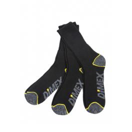 Комплект рабочих термоносков Dimex 4101+ (5 пар), черный/серый/желтый