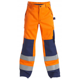 Брюки Engel Safety+ 2235-835 оранжевый/синий