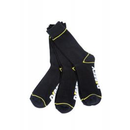 Комплект рабочих носков Dimex 4100+ (5 пар), черный/белый/желтый