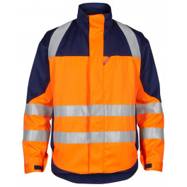 Куртка Engel Safety+ 1285-830 оранжевый/синий
