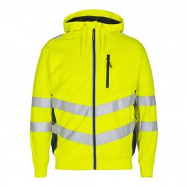 Сигнальная куртка Engel Safety Sweat Cardigan 8025-241 желтый/синий