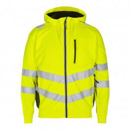 Сигнальная куртка Engel Safety Sweat Cardigan 8025-241 желтый/черный