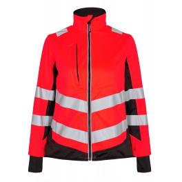 Женская сигнальная куртка Engel Safety 1156-237 красный/черный