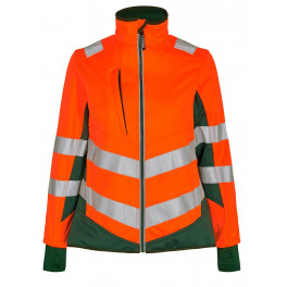 Женская сигнальная куртка Engel Safety 1156-237 оранжевый/зеленый