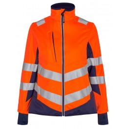 Женская сигнальная куртка Engel Safety 1156-237 оранжевый/синий