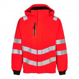 Сигнальная куртка Engel Safety 1246-930 красный/черный