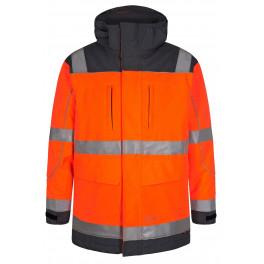 Сигнальная куртка-парка Engel Safety 1400-928 оранжевый/серый