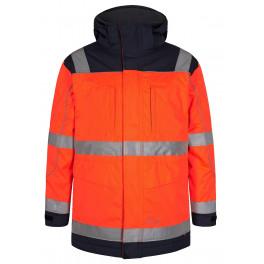 Сигнальная куртка-парка Engel Safety 1400-928 оранжевый/синий