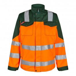 Женская сигнальная куртка Engel Safety 1541-770 оранжевый/зеленый