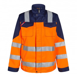 Женская сигнальная куртка Engel Safety 1541-770 оранжевый/синий