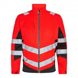 Сигнальная куртка Engel Safety 1545-319 красный/черный