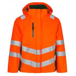 Женская зимняя сигнальная куртка Engel Safety 1943-930 оранжевый/зеленый