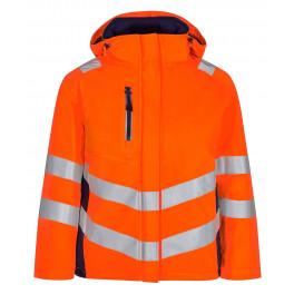 Женская зимняя сигнальная куртка Engel Safety 1943-930 оранжевый/синий
