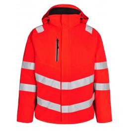Сигнальная зимняя куртка Engel Safety 1946-930 красный/черный
