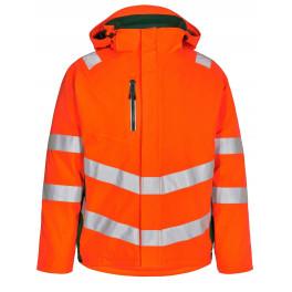 Сигнальная зимняя куртка Engel Safety 1946-930 оранжевый/зеленый