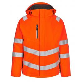 Сигнальная зимняя куртка Engel Safety 1946-930 оранжевый/серый