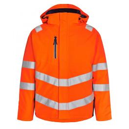 Сигнальная зимняя куртка Engel Safety 1946-930 оранжевый/синий