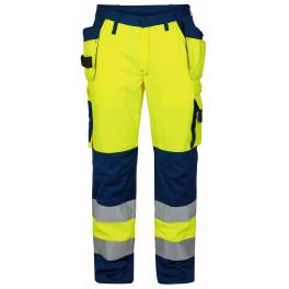 Сигнальные брюки Engel 2502-775 желтый/синий