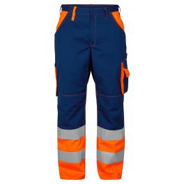 Сигнальные брюки Engel 2505-785 синий/оранжевый