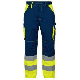 Сигнальные брюки Engel 2505-785 синий/желтый