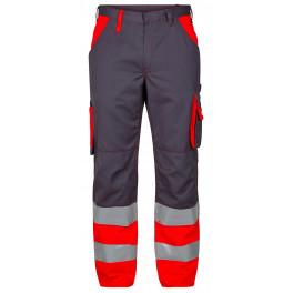 Сигнальные брюки Engel 2505-785 серый/красный