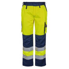 Женские сигнальные брюки Engel Safety 2541-770 желтый/синий