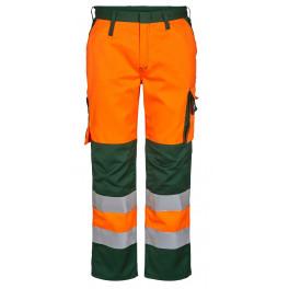 Женские сигнальные брюки Engel Safety 2541-770 оранжевый/зеленый