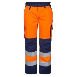 Женские сигнальные брюки Engel Safety 2541-770 оранжевый/синий