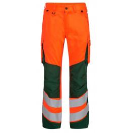Женские сигнальные брюки Engel Safety 2543-319 оранжевый/зеленый