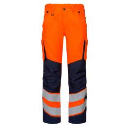 Женские сигнальные брюки Engel Safety 2543-319 оранжевый/синий