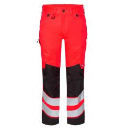 Сигнальные брюки Engel Safety 2544-314 красный/черный