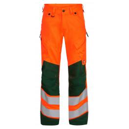 Сигнальные брюки Engel Safety 2544-314 оранжевый/зеленый