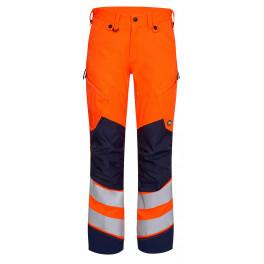 Сигнальные брюки Engel Safety 2544-314 оранжевый/синий