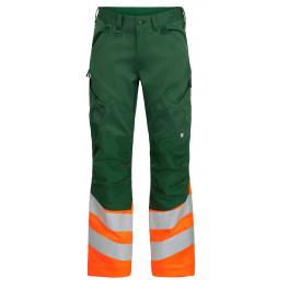 Сигнальные брюки Engel Safety 2546-314 зеленый/оранжевый