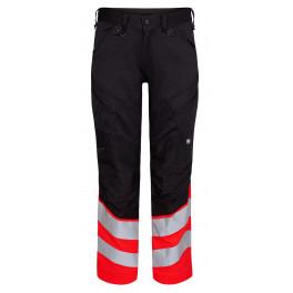 Сигнальные брюки Engel Safety 2546-314 черный/красный