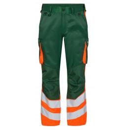 Сигнальные брюки Engel Safety 2547-319 зеленый/оранжевый