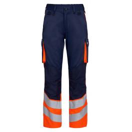 Сигнальные брюки Engel Safety 2547-319 синий/оранжевый