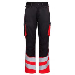 Сигнальные брюки Engel Safety 2547-319 черный/красный
