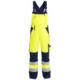 Сигнальный полукомбинезон Engel 3511-525 желтый/синий