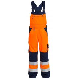 Сигнальный полукомбинезон Engel 3511-525 оранжевый/синий