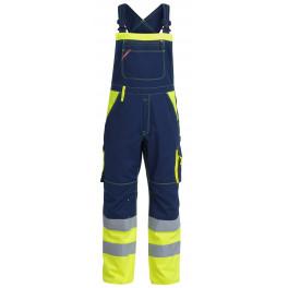 Сигнальный полукомбинезон Engel 3515-785 синий/желтый