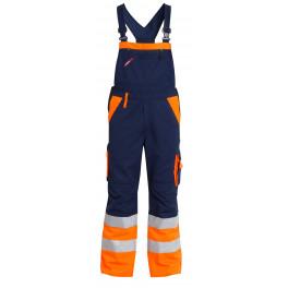 Сигнальный полукомбинезон Engel 3515-785 синий/оранжевый