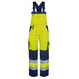 Женский сигнальный полукомбинезон Engel Safety 3541-770 желтый/синий