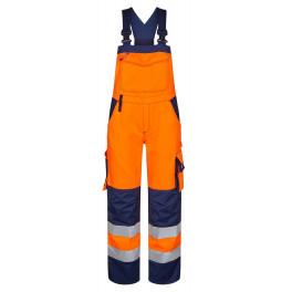 Женский сигнальный полукомбинезон Engel Safety 3541-770 оранжевый/синий