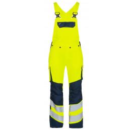 Женский сигнальный полукомбинезон Engel Safety 3543-319 желтый/синий